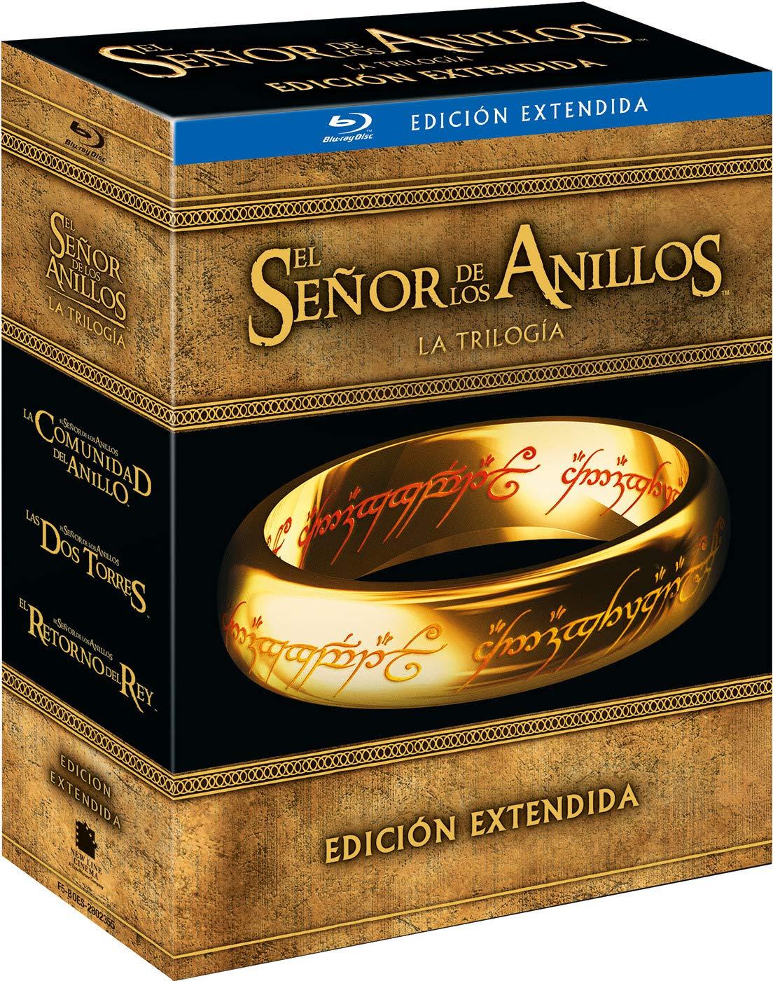 Trilogía El Señor de los Anillos Blu-ray