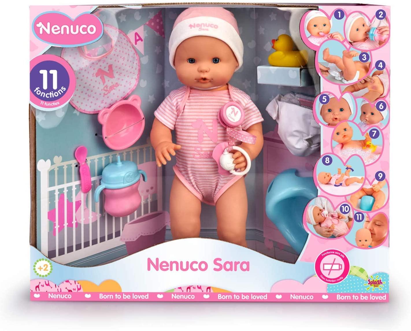 Muñeca bebé Sara (Nenuco)