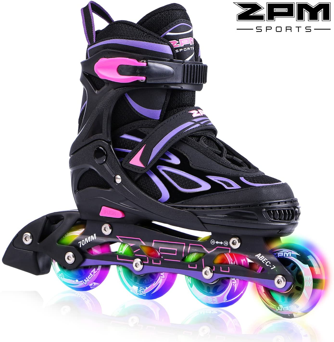 Patines con ruedas luminosas (2PM Sports)