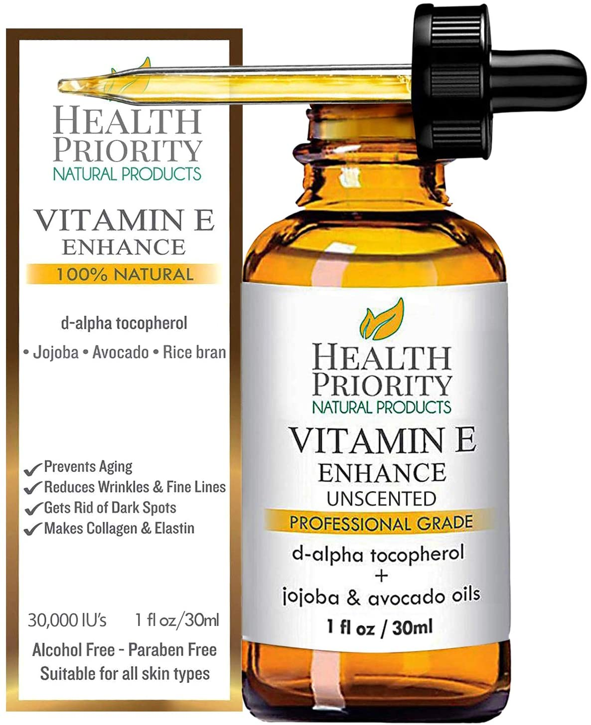 Aceite hidratante (Health Priority Natural Products)