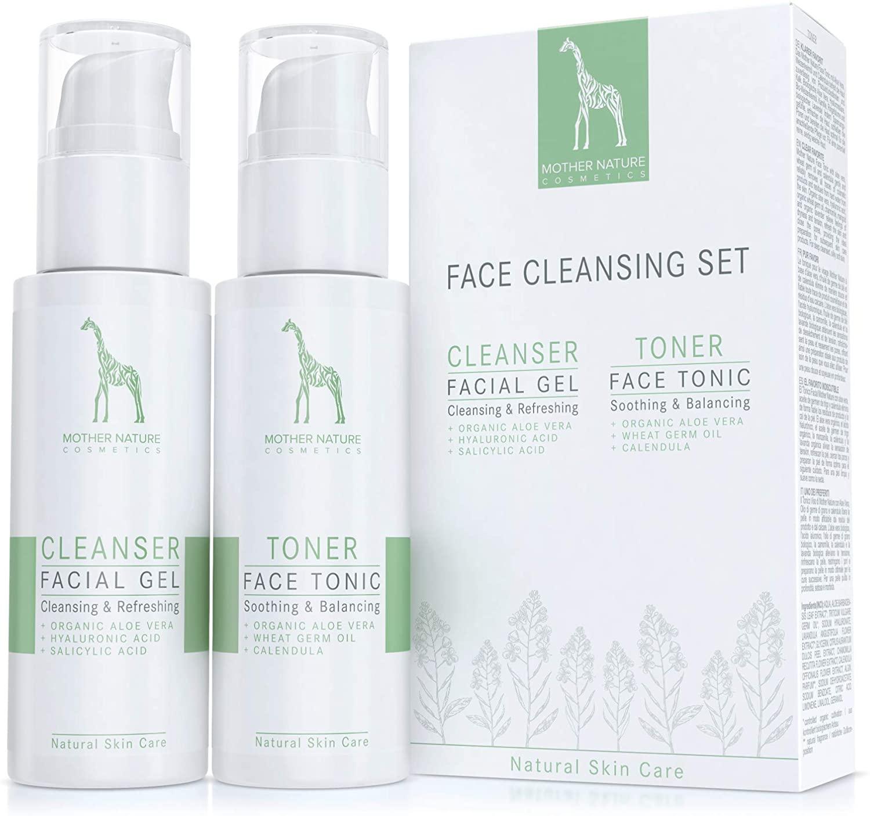 Set de limpieza facial (Mother Nature Cosmetics)